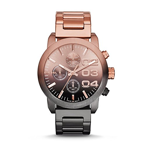 Diesel Diesel Chronograph Pink Dial Men's Watch - DZ5434 (Multicolor)