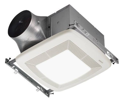 Broan ZB110L Ultra X2 Multi-Speed Series Ventilation Fan with 36-Watt Fluorescent Bulb and 4-Watt Night Bulb (Broan Zb110l compare prices)