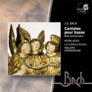 Bach: Cantatas for solo bass (BWV 82, 56, 158) /Kooy · Herreweghe