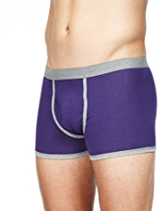 3 Pack Cool & Fresh™ Stretch Cotton Colour Block Trunks with StayNEW™