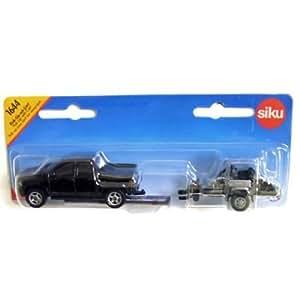 Amazon.com: Siku - Pick-Up with Cart: Toys & Games