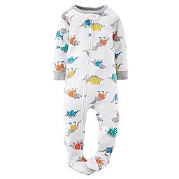 Carter\'s Baby Boys\' 1-Piece Snug Fit Cotton Pajamas