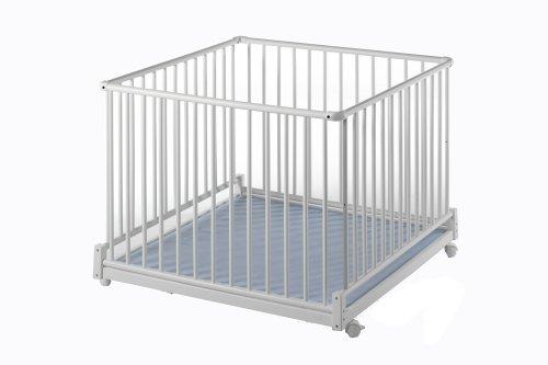 preisvergleich und test schardt 020350002 schardt laufgitter komfort ii 100x100 cm weiss. Black Bedroom Furniture Sets. Home Design Ideas
