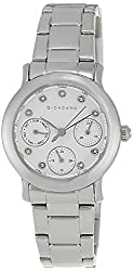Giordano Analog White Dial Womens Watch - A2007-11