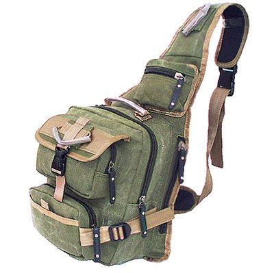 Military Inspired Backpack Hiking Camping Gear Sling Daypack Olive Drab