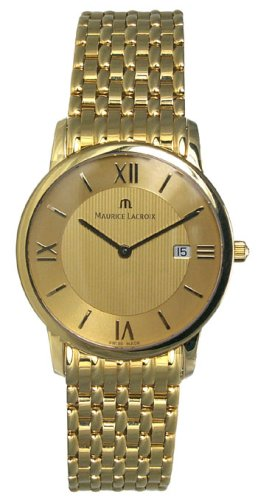 Maurice Lacroix 18k Solid Gold Mens Watch AU1047-YG104-710 - Buy Maurice Lacroix 18k Solid Gold Mens Watch AU1047-YG104-710 - Purchase Maurice Lacroix 18k Solid Gold Mens Watch AU1047-YG104-710 (Maurice Lacroix, Jewelry, Categories, Watches, Men's Watches, Dress Watches)