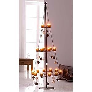 deko christbaum metall deko objekt christbaum dekorierbar. Black Bedroom Furniture Sets. Home Design Ideas