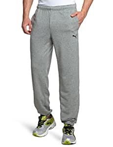 PUMA Herren Hose ESS Sweat Pants, Terry, CL., Medium Gray Heather, S, 823995 04