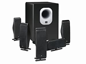 JBL 5.1-Channel Surround Cinema Speaker System with 10-Inch Subwoofer SCS500.5 (Discontinued by Manufacturer)