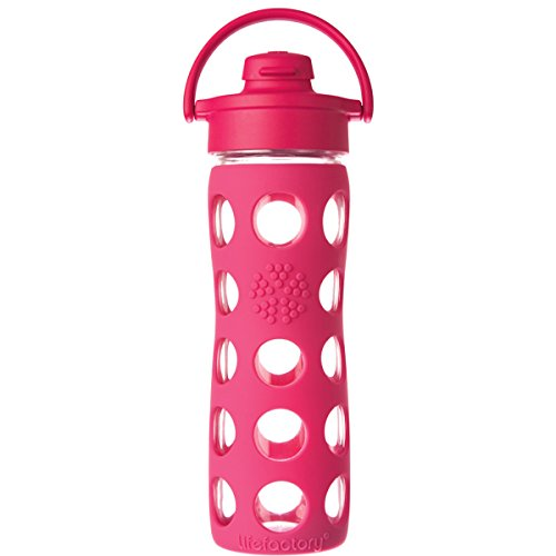 Lifefactory-16-Ounce-BPA-Free-Glass-Water-Bottle-with-Flip-Cap-Silicone-Sleeve