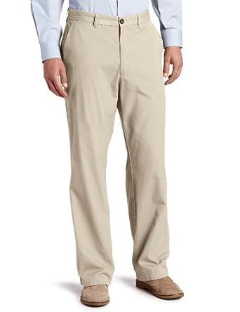 Dockers Men's Soft Classic Fit Flat Front Pant,Cottonwood,34x32