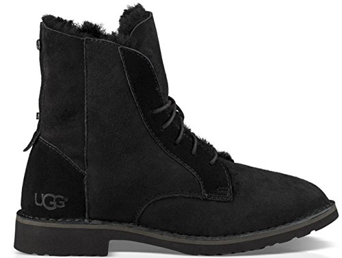 ugg-australia-womens-quincy-leather-combat-boots-in-black-in-size-37-black