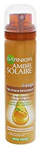 Garnier Ambre Solaire Visage / 75ml / Self Tanning Spray for the face
