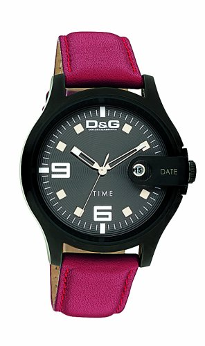 D & G DW0315 Gents 'Elec'trical' Red Strap  Watch