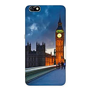 Enticing London City Multicolor Back Case Cover for Honor 4X