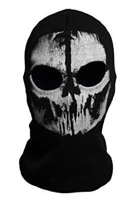 Tinksky® COD Ghost Skull Balaclavas Skiing Airsoft Paintball Game Cosplay Mask Hood