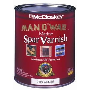 Valspar 080.0007509.005 McCloskey Man O'War Spar Marine Varnish