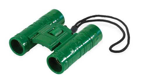 Safari Ltd Green Collapsible Binoculars