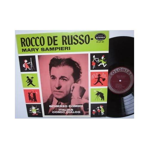 Scherzo Comici   Italian Comic Dialog. LP Rocco De Russo