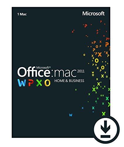 Office Mac 2011 Home and Business 2011 – 1 Mac/1 User [Download] image