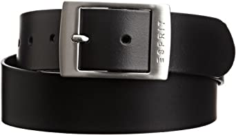 Esprit Xoctavia - Ceinture - Uni - Femme - Noir (Black) - Large (Taille fabricant: 85)