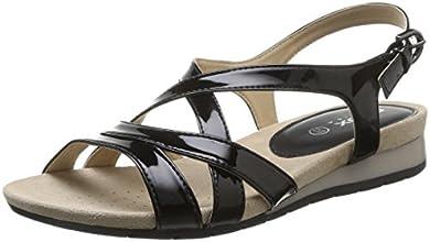 Geox D Formosa B, Sandales femme - Noir (Black), 38 EU