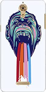The Racoon Lean Tripping Chimpanzee hard plastic printed back case/cover for Coolpad Mega 2.5D