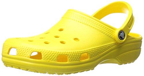 Crocs Classic Zoccoli e Sabot, Unisex Adulto, Giallo (Lemon), 39/40