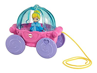 Disney Baby Cinderella Musical Carriage Pull Toy by Fisher Price that we recomend personally.