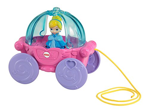 Disney Baby Cinderella Musical Carriage Pull Toy - 1