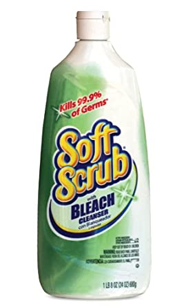 Dial Professional 01602 Soft Scrub With Bleach 24 Oz. (Case of 9)