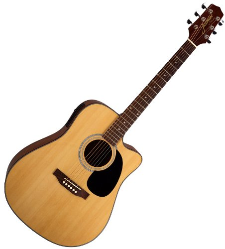 Takamine jasmine es33c acoustic electric guitar w case for Yamaha fgx720sca price