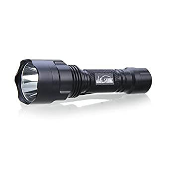 WAYLLSHINE(TM) C8-T6 5-Mode XML CREE LED 1000 Lumen Flashlight Torch for Riding, Camping, Hiking, Hunting & Indoor Activities