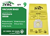Home - 9 Kenmore 50558, 5055, 50557 Micro Filtration Canister Vacuum Bags
