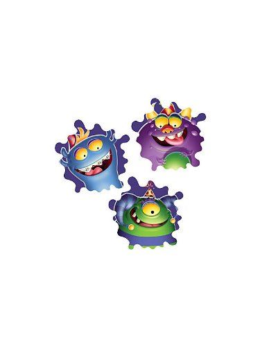 Monster Party Wall Decoration (3-pack)