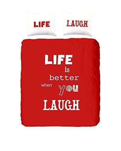 Good Morning Juego De Funda Nórdica Laugh