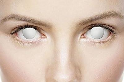 Xtreme Eyez Lens. 1 Day. Blind costume Kids Fancy Dress