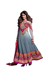 Adah Unstitched Georgette Salwar Kameez- 510-7608