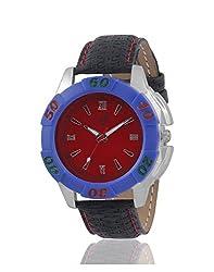 Yepme Royol Mens Watch - Red/Black -- YPMWATCH2198