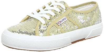 Superga 2750- PAIWREFLEX S003IM0, Damen Sneaker, Gold (Gold-Silver 929), EU 40