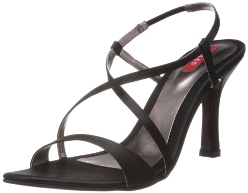 Soles Women's Black Fashion Sandals - 8 UK (01222) (brown)