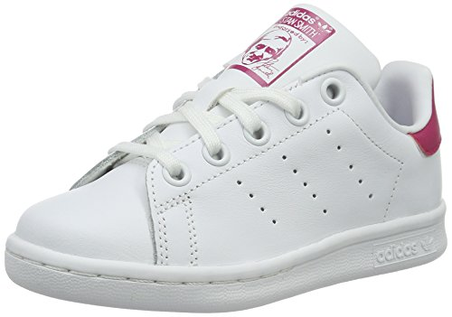 adidas-stan-smith-c-basket-unisexe-enfant-multicolore-multicolore-ftwwht-ftwwht-bopink-29-eu
