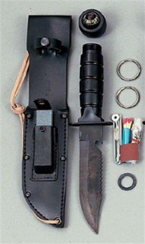 Rothco Survival Kit Knife, Black
