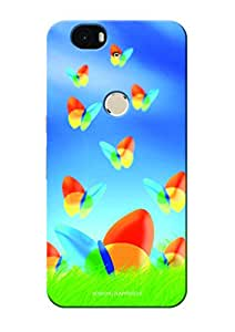 Sowing Happiness Printed Back Cover For Google Nexus 6P