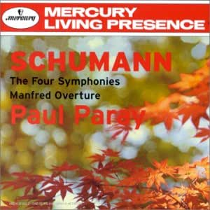 The Four Symphonies;Manfred Overture