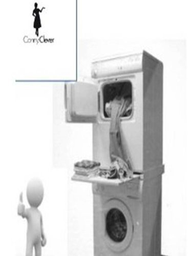 Cadre de raccordement / Construction de cadre intermédiaire avec Comptoir pour machine à laver et Séchoir