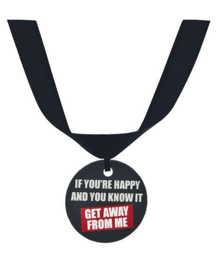 "Ganz Grumpy Cat Collar Accessory ""If You're Happy and You Know It Get Away From Me"""