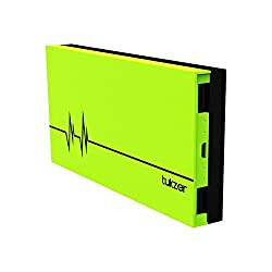 Tukzer 10000 mAh Power Bank, High Quality Li-Polymer External Battery, Portable Charger Backup Pack with Intelligent Power Saving Dual USB,(Green)
