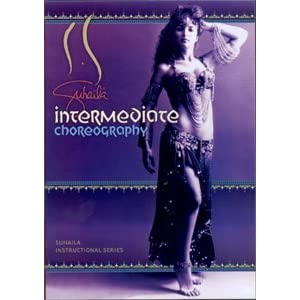 Suhaila Instructional Series: Intermediate Choreography for Belly Dancing