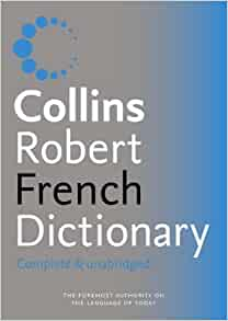 Robert french dictionary collins pdf